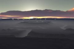 Obsidian Sunrise